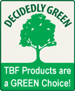 TBF Products by Chicagoland are green