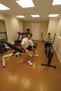 DBS can help you with any basement finishing idea- including that new home gym you've always wanted