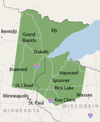 Our Minnesota and Wisconsin Service Area